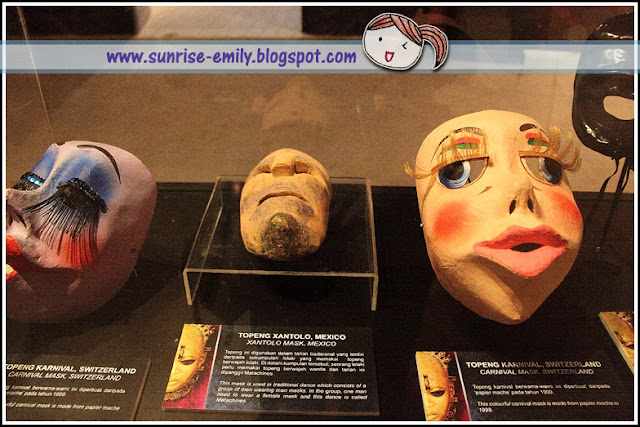 Masks of the World @ National Museum; Pameran Topeng Sedunia Muzium Negara