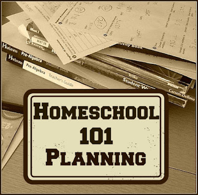 Homeschool 101, Planning, Glimpse of Normal Blog