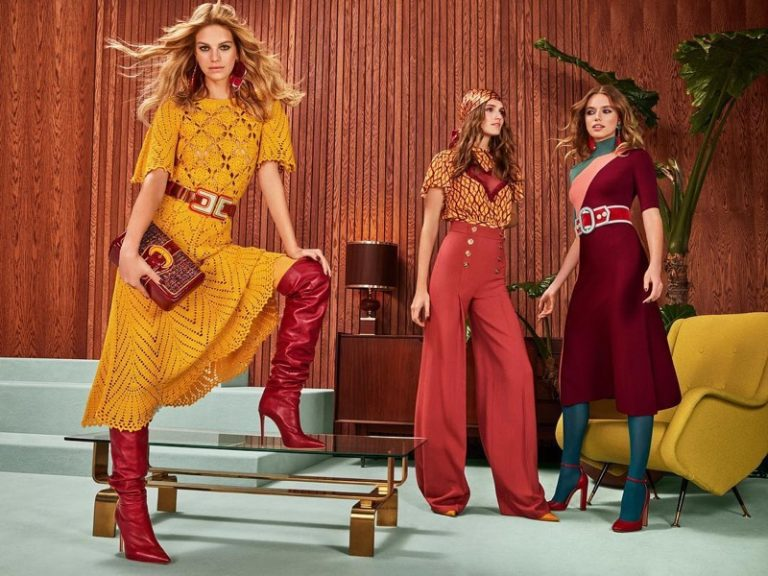 Elisabetta Franchi Fall/Winter 2018 Campaign