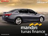 Paket Kredit Mobil Honda Accord Bandung
