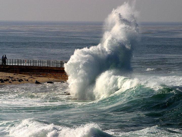 fırtına manzaralı resimler