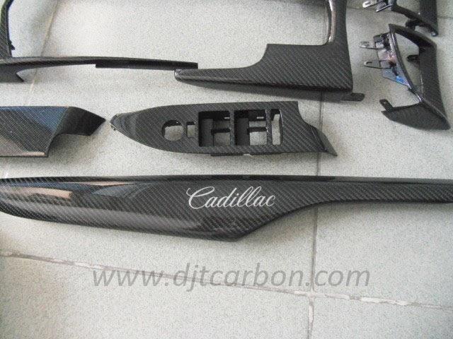 Djt carbon co ltd cadillac carbon fiber interior parts - Cadillac cts interior accessories ...