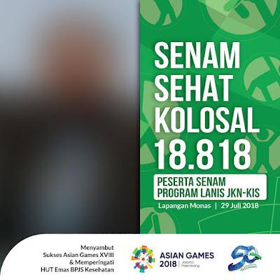Besok, BPJS Kesehatan Tana Toraja Akan Gelar Senam Sehat Kolosal dan Donor Darah di Plaza Makale