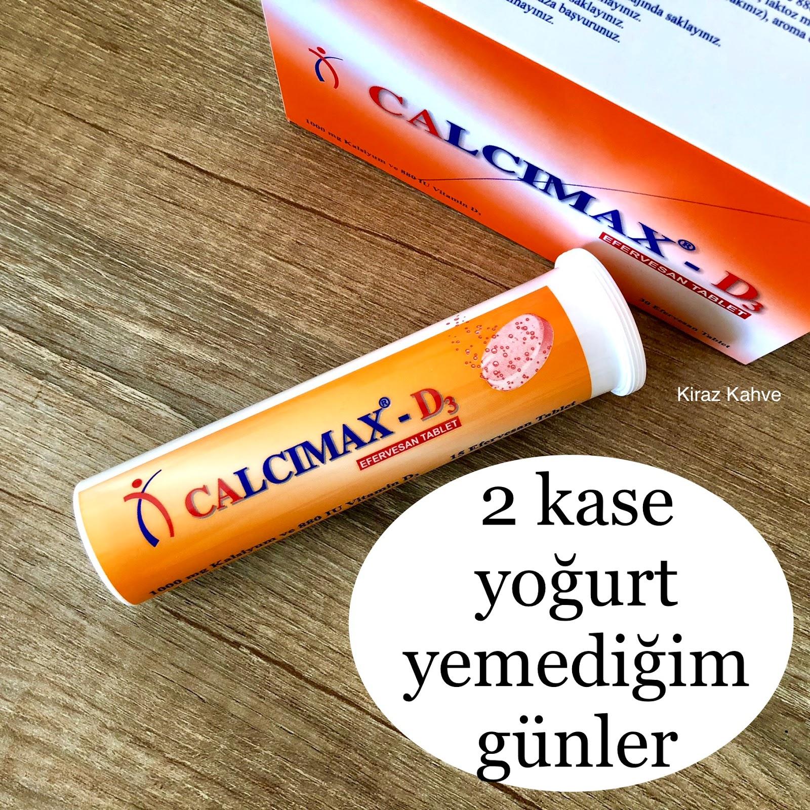 calcimax kalsiyum