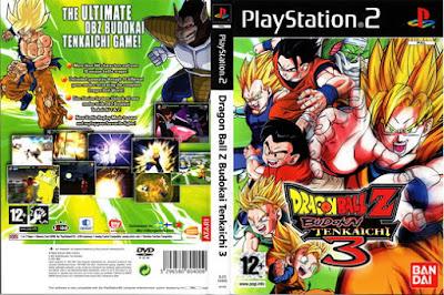 Dragon Ball Z Budokai Tenkaichi 3 PS2 free download full version