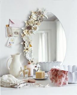 Egg Carton Flower Mirror Inspirations