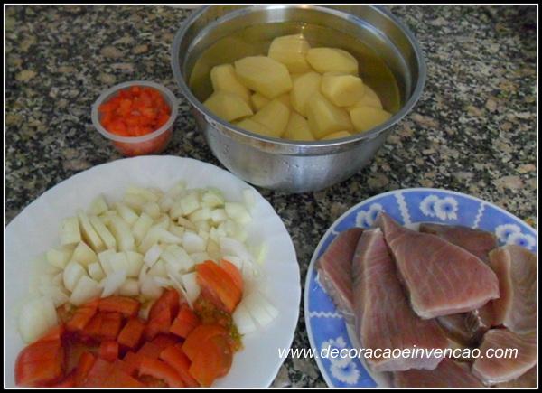 receitas com peixe prá sexta feira santa