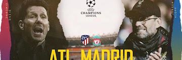 UCL 16 Besar: Atletico Madrid vs Liverpool FC