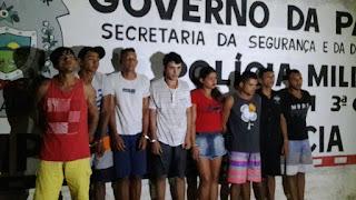 Oito pessoas são presas em operação no Agreste da Paraíba