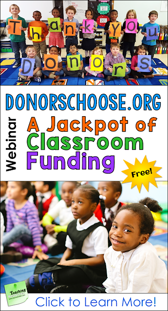 Do you spend too much of your own money on classroom supplies and resources? Learn how to tap into the DonorsChoose jackpot of funding so you can get the materials you need without breaking the bank!