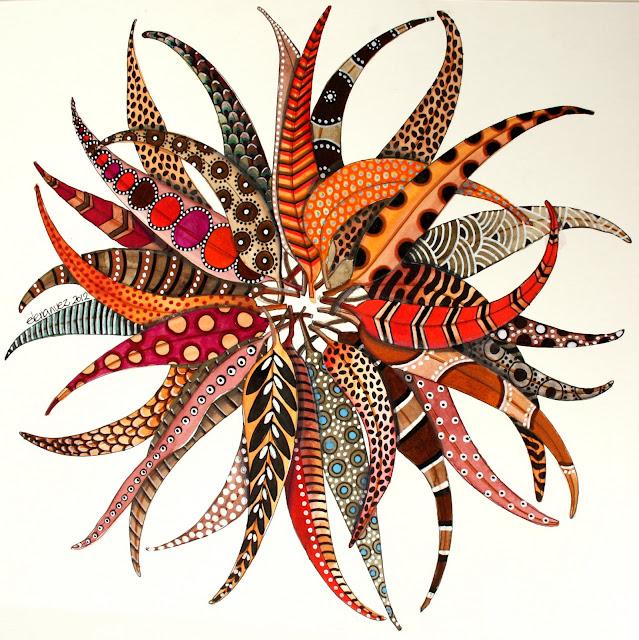 dekoratif-boyama-yaprak-