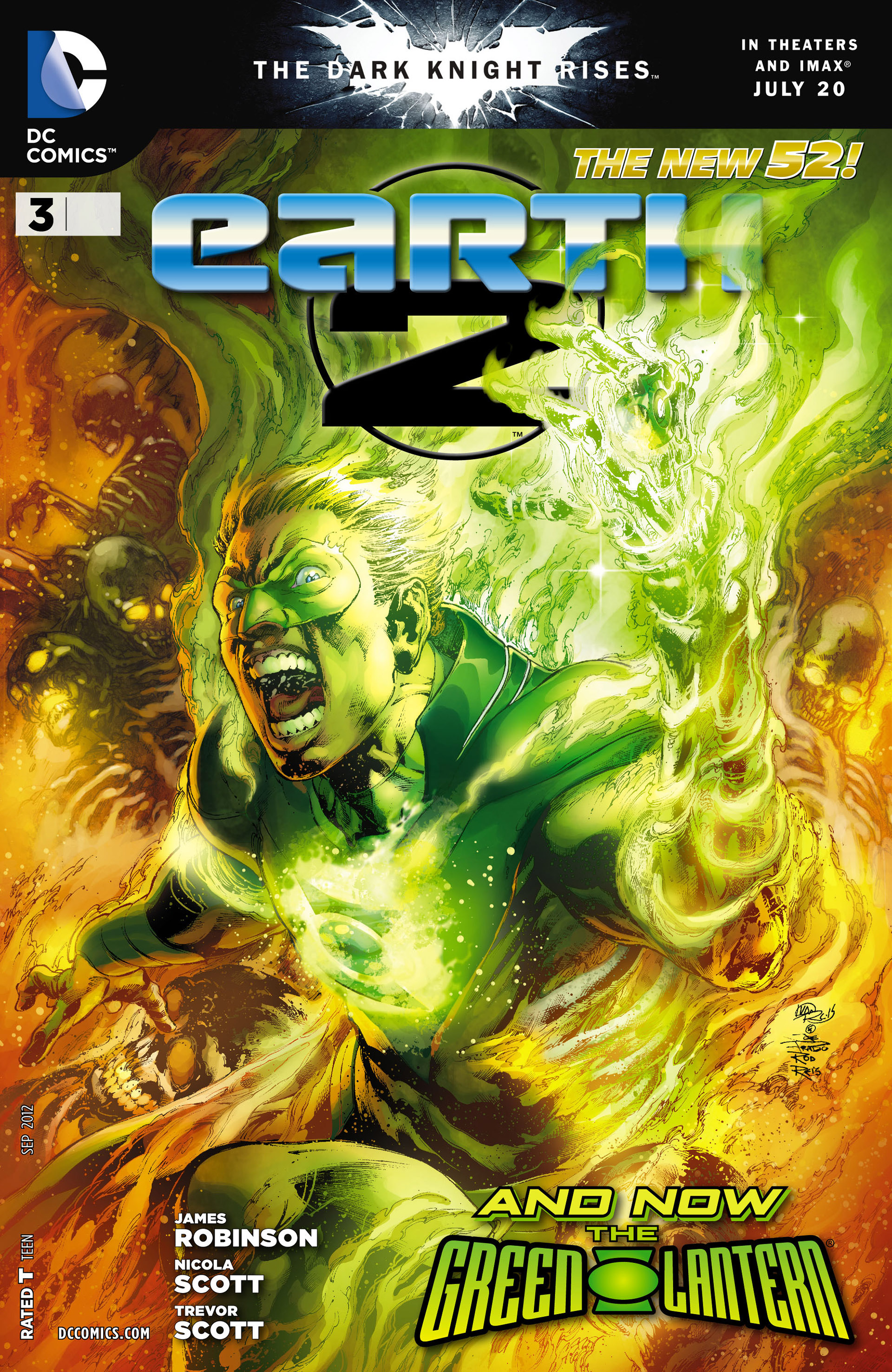 Earth 2 issue 3 - Page 1