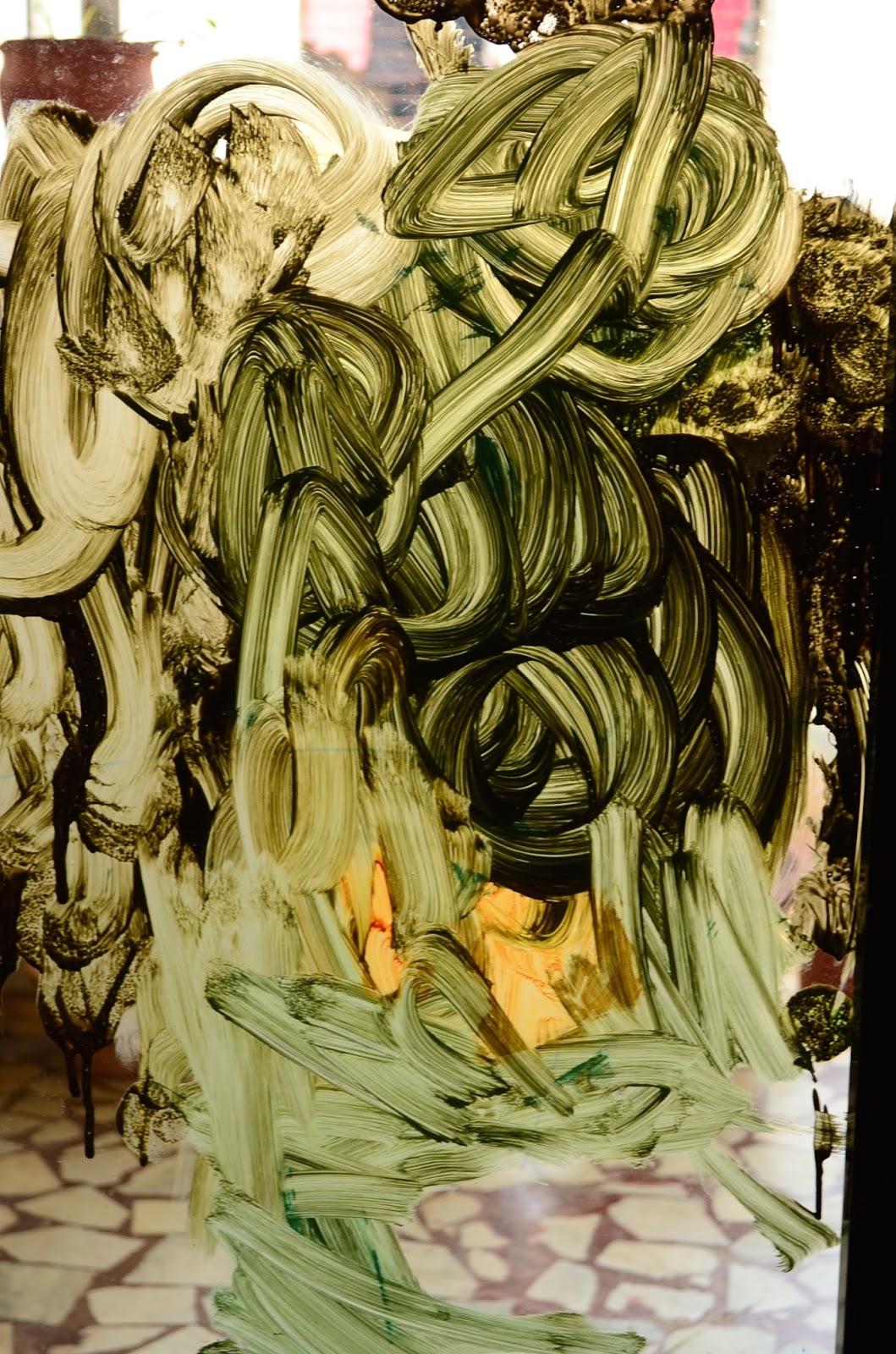 Mural Art on Glass Doors (Art Studio Diaries)