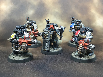 Deathwatch Space Marines from Squaduary 2017