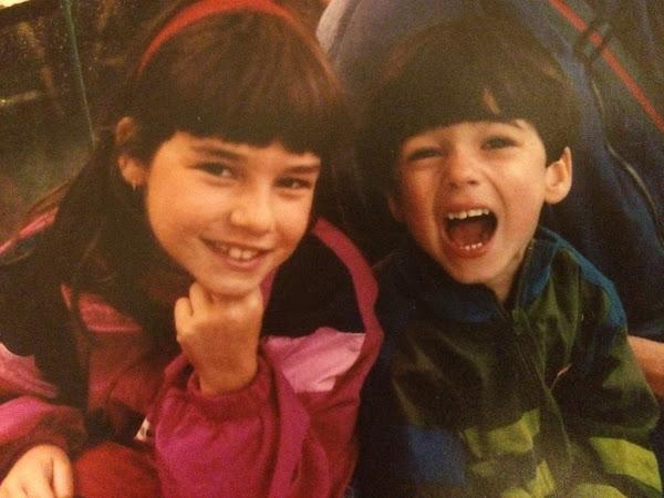 Crianças: o meu irmão e eu