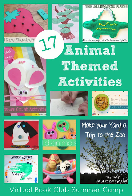 the educators 39 spin on it 17 book inspired animal themed activities for kids. Black Bedroom Furniture Sets. Home Design Ideas