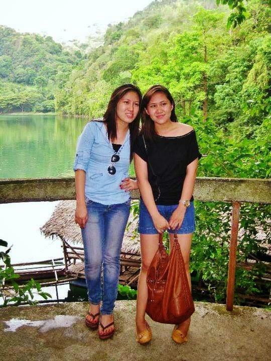 me-and-my-sister-in-Balanan-Lake