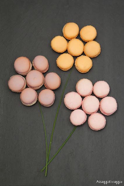 Macarons floreali