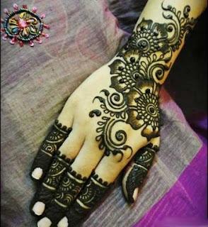 henna tangan simple
