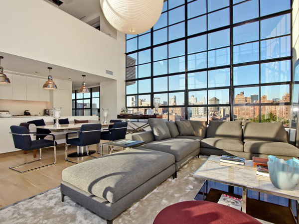 Sweet room on Spectacular Duplex Penthouse in New York ...