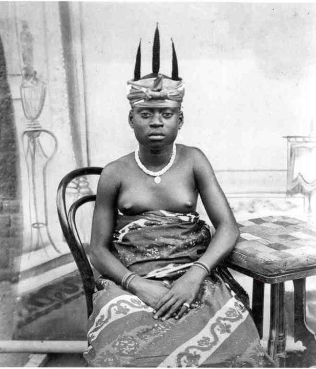Gold Coast (Ghana) Fante woman