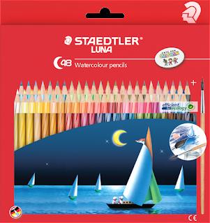 staedler pensil terbaik untuk anak watercolor isi 48