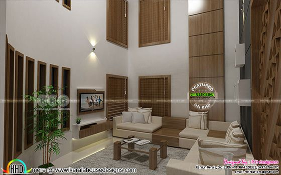 Upper liiving room interior Kerala