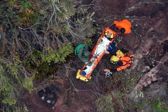 Lençóis: Turista francês sofre queda de 12 metros ao fazer trilha na Chapada Diamantina