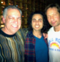 Jerry Lembo, Keaton and David Duchovny
