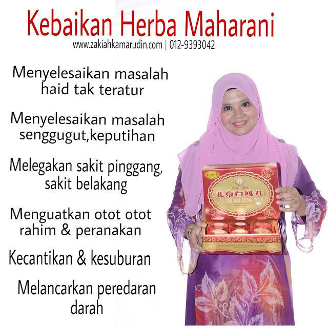 HARGA PROMOSI HERBA MAHARANI HAI-O -www.zakiahkamarudin.com