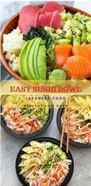 EASY SUSHI BOWL RECIPE