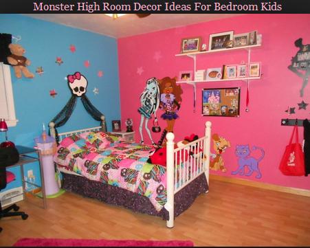 Monster High Room Decor Ideas For Bedroom Kids   formation ...