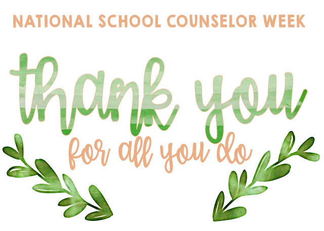 National School Counselor Week + Ideas and Resources to Celebrate