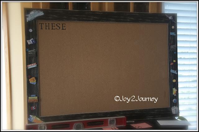 Bulletin Board, decorating, quote