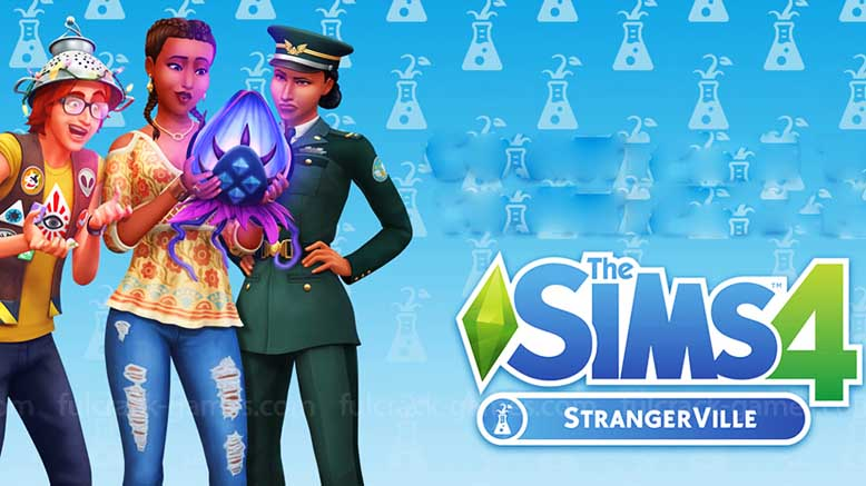THE SIMS 4 FULL DLC V1.51.77.1020 (STRANGERVILLE)