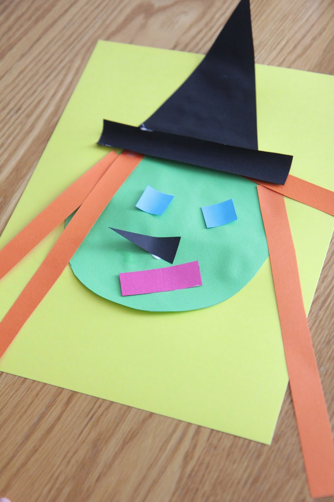 halloween crafts for toddlers toddler approved witch shape craft inspired by room on 4606