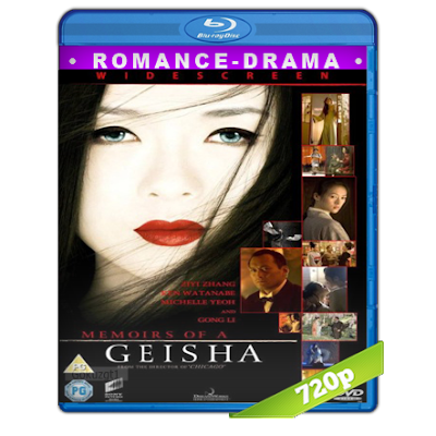 Memorias De Una Geisha (2005) BRRip 720p Audio Trial Latino-Castellano-Ingles 5.1