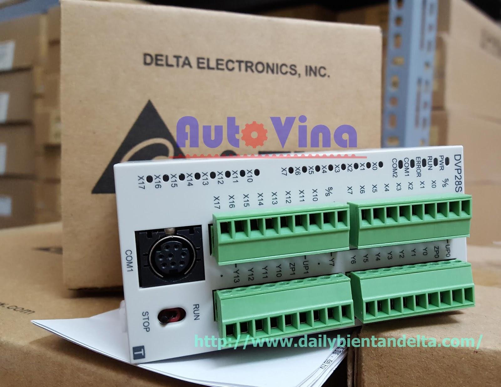 Đại lý bán PLC Delta DVP28SA211T hàng có sẵn, giá rẻ nhất
