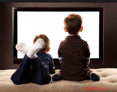Jaga Jarak Mata dari Layar Televisi