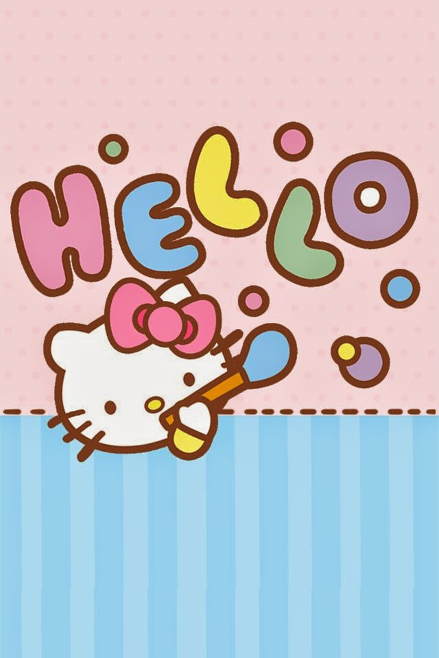 wallpaper phone hello kitty
