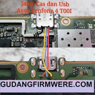 Jalur Usb Charger Asus Zenfone 4 T001