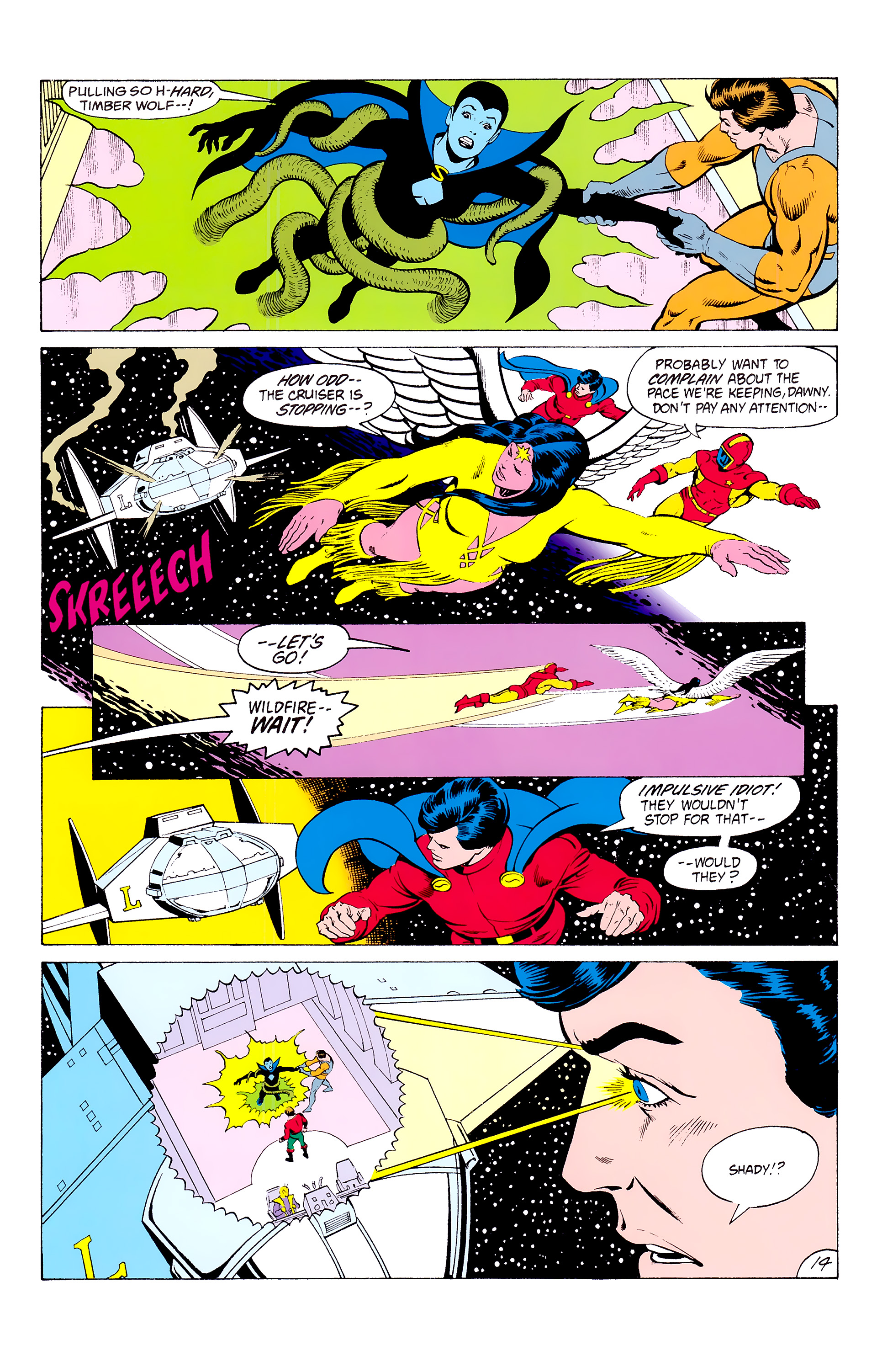 Legion of Super-Heroes (1980) _Annual_3 Page 14