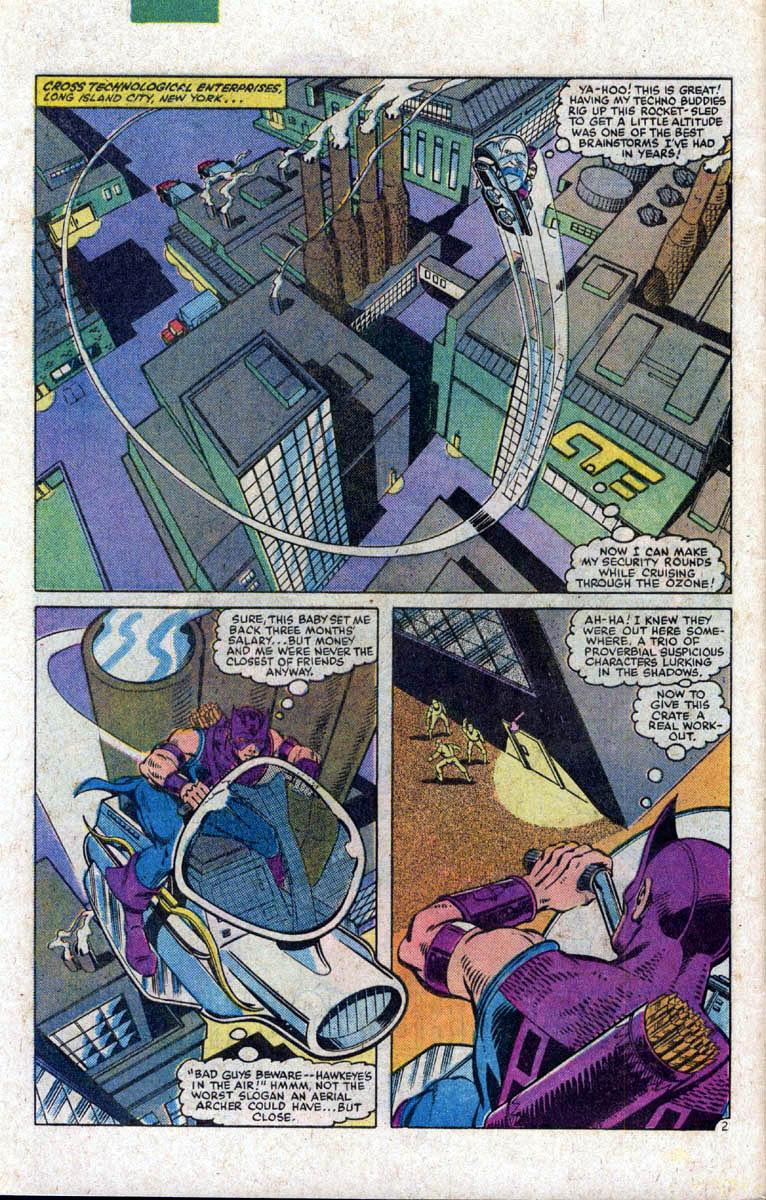 Hawkeye (1983) Issue #1 #1 - English 3