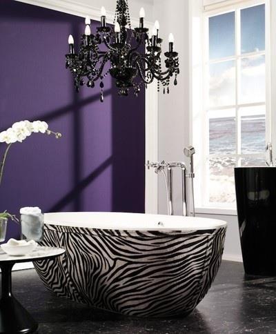 gincu pink: dekorasi: bilik air
