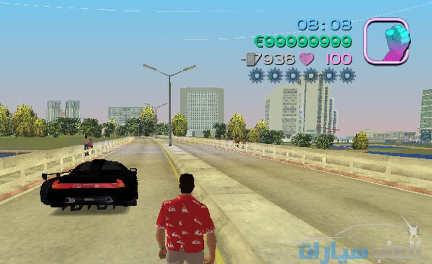 تحميل لعبة جاتا 7 Gta Vice City للكمبيوتر