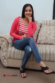 Telugu Actress Mouryani Latest Pos in Blue Denim Jeans  0102.JPG