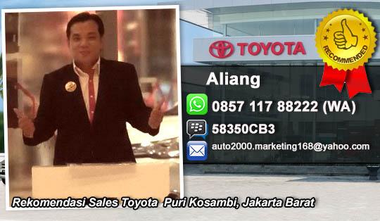 Rekomendasi Sales Toyota Puri Kosambi, Jakarta Barat