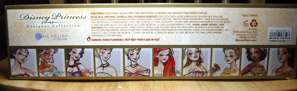 Imperfectly Painted: Disney Princess Designer Nail Polish Part 1
