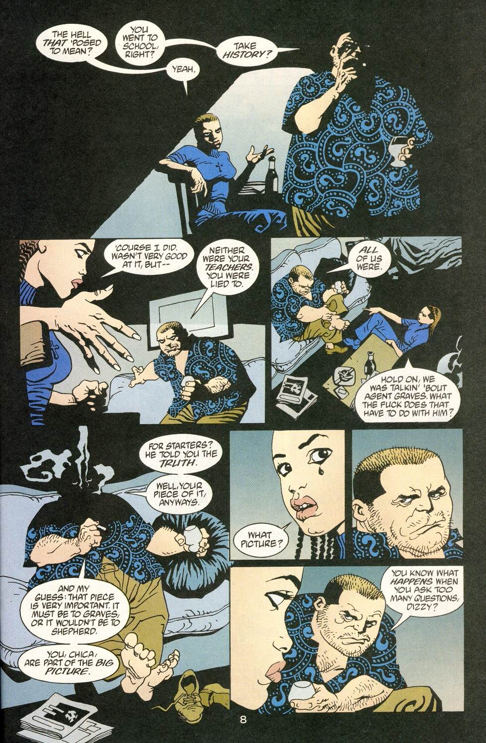 Read online 100 Bullets comic -  Issue #14 - 10