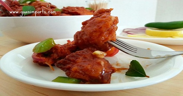 Sticky Chicken 65 Recipe